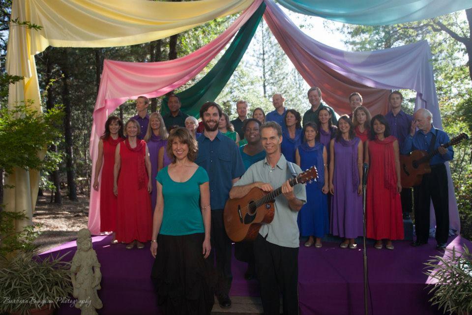 The Joy Singers: outdoor music concert