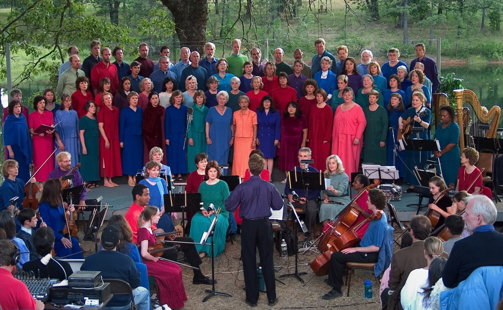 Spiritual Renewal Week Concert with full choir and orchestra