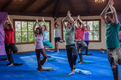29fab0e4c9 A new type of yoga, Ananda Yoga, is highlighted in Finding Happiness when  Juliet discovers a spiritual form of yoga for healing and transformation in  body, ...