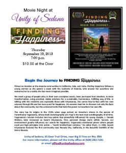Finding Happiness Press Release Sedona
