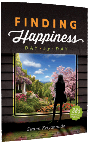 Free ebook cover-Finding Happiness Day-by-Day by Swami Kriyananda